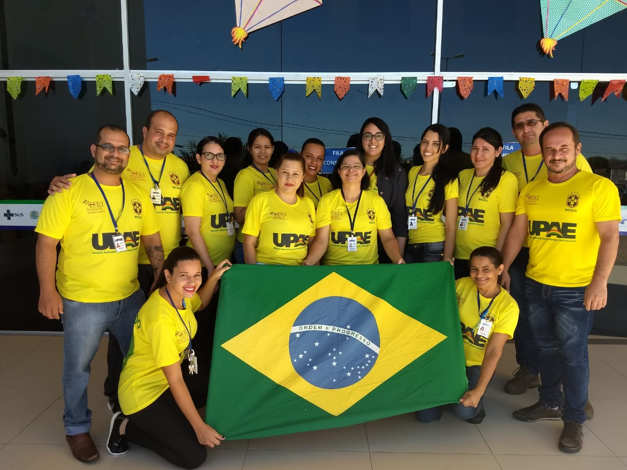 UPAE de Afogados da Ingazeira em clima de Copa do Mundo